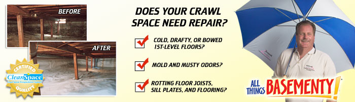 Crawl Space Repair in NJ, including Union City, Edison & Paterson, Toms River.