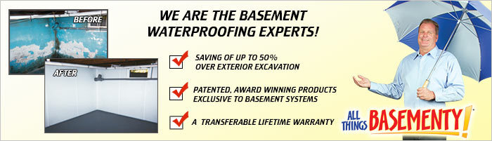 Basement Waterproofing in NJ, including Edison, Union City & Paterson, Toms River.